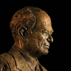Bust of J. William Fulbright