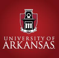 University of Arkansas logo.